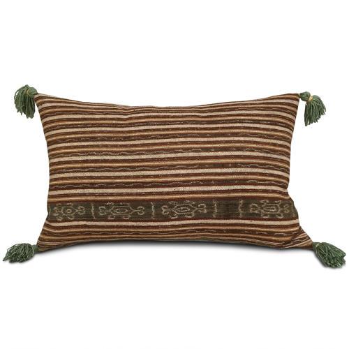 Ikat Cushions with Tassels