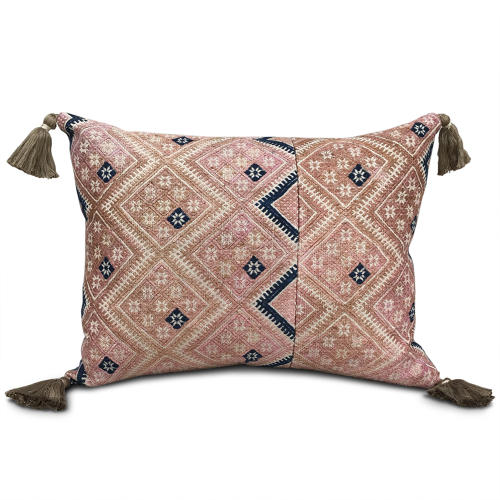 Zhuang Cushion with Tassels