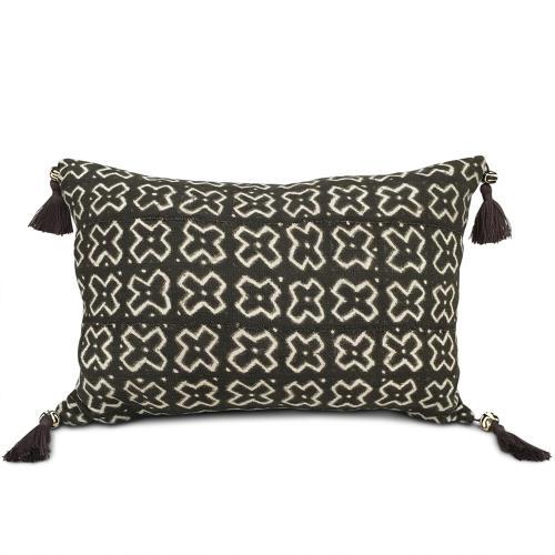 Mud Cloth Cushions with Tassels