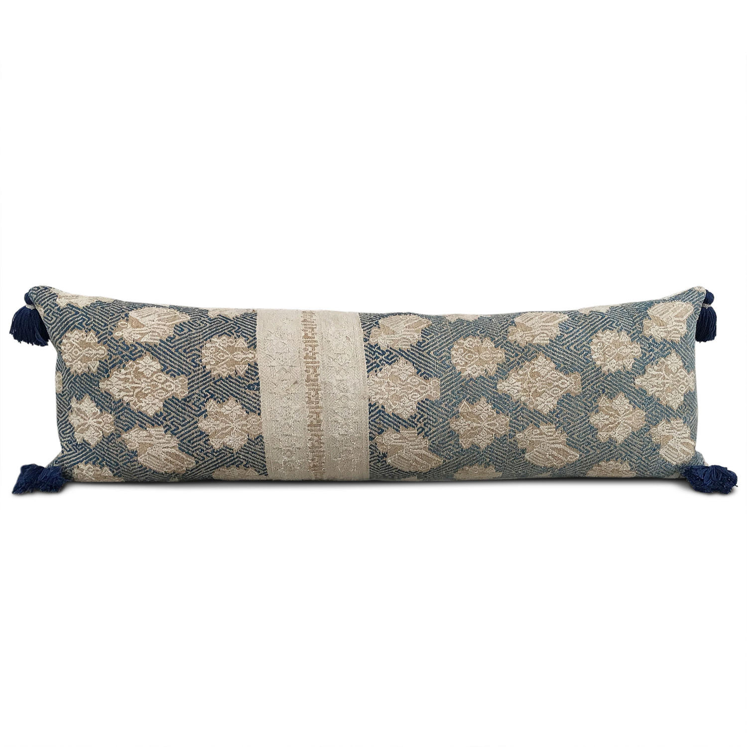 Mulao Wedding Blanket Cushion with Tassels