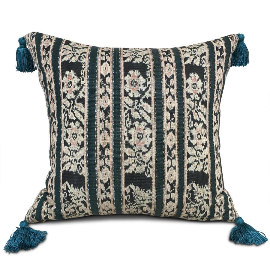 Flores Ikat Cushions wih Tassels
