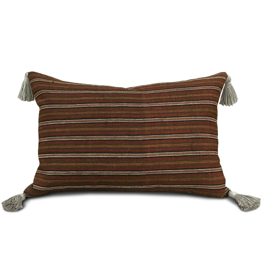 C19 Hemp Striped Cushions