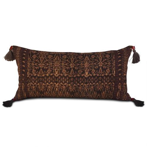 Ikat Cushions with Beaded Tassels