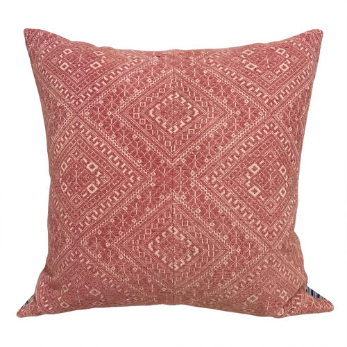 Large Red Dai Wdding Blanket Cushions