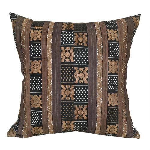 Miao Silk Ribbon Skirt Border Cushion