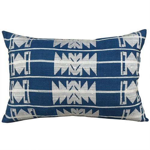 Blue and White Yoruba Cushions