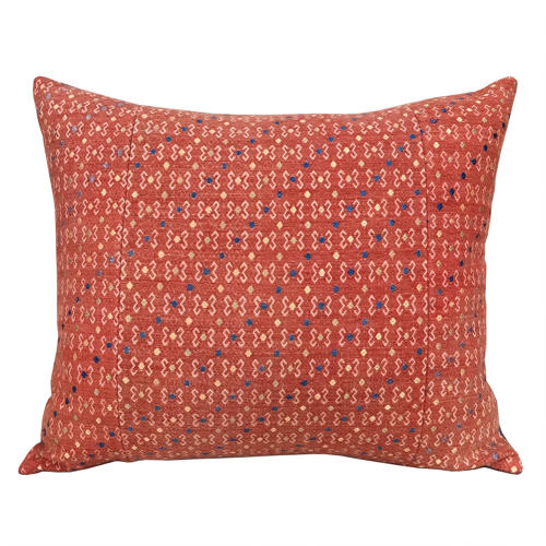 Large Terracotta Wedding Blanket Cushions