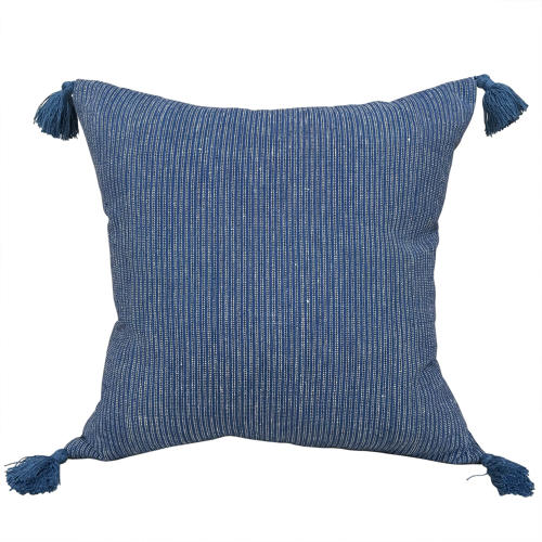 Buyi Indigo Cushions with Tassels