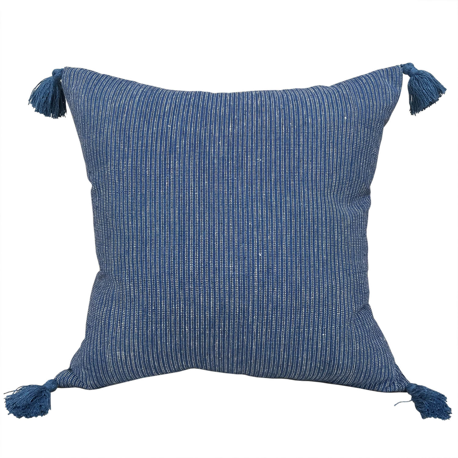 Buyi Indigo Cushions with Tassels