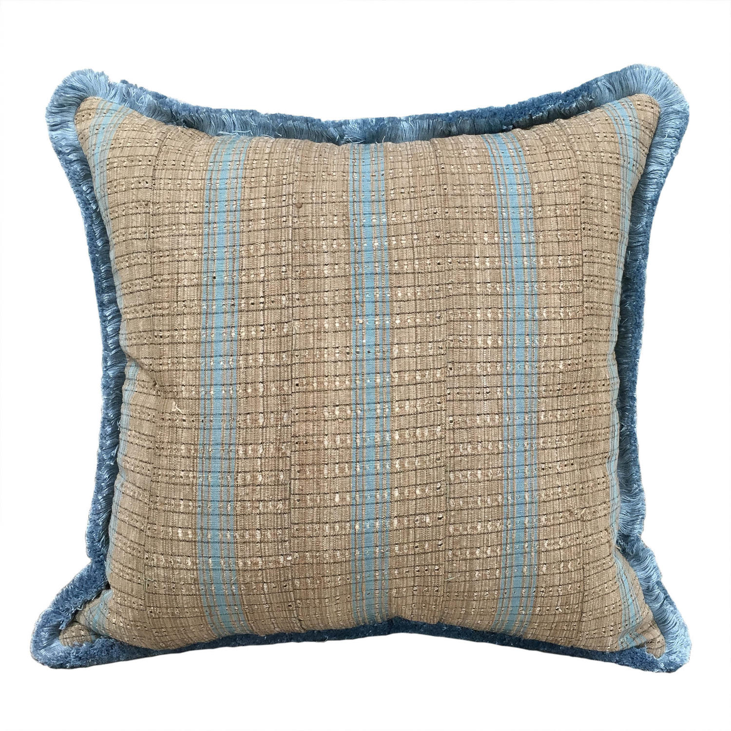 Yoruba Cushions with Fringe Trim
