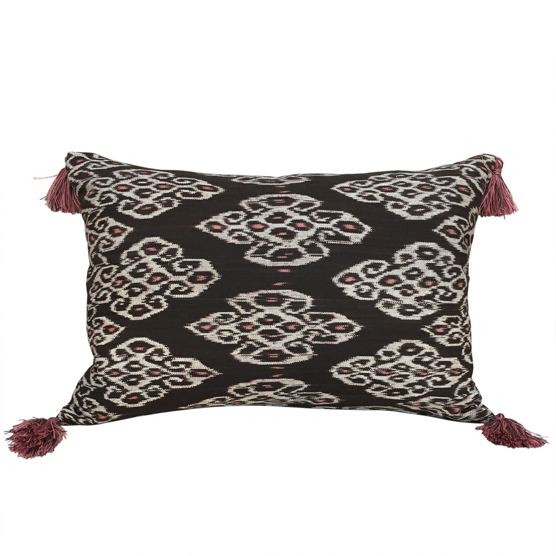 Timor Ikat Cushions with Tassels