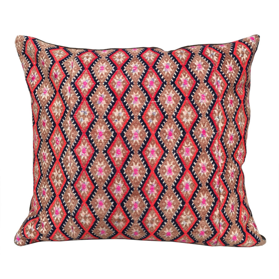 Striking Zhuang Wedding Blanket Cushion