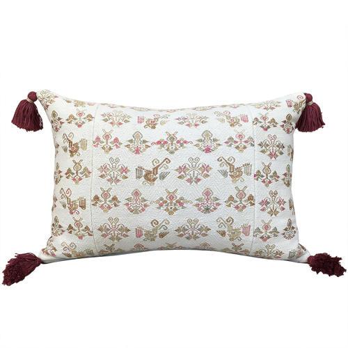 Large Maonan Cushions with Tassels