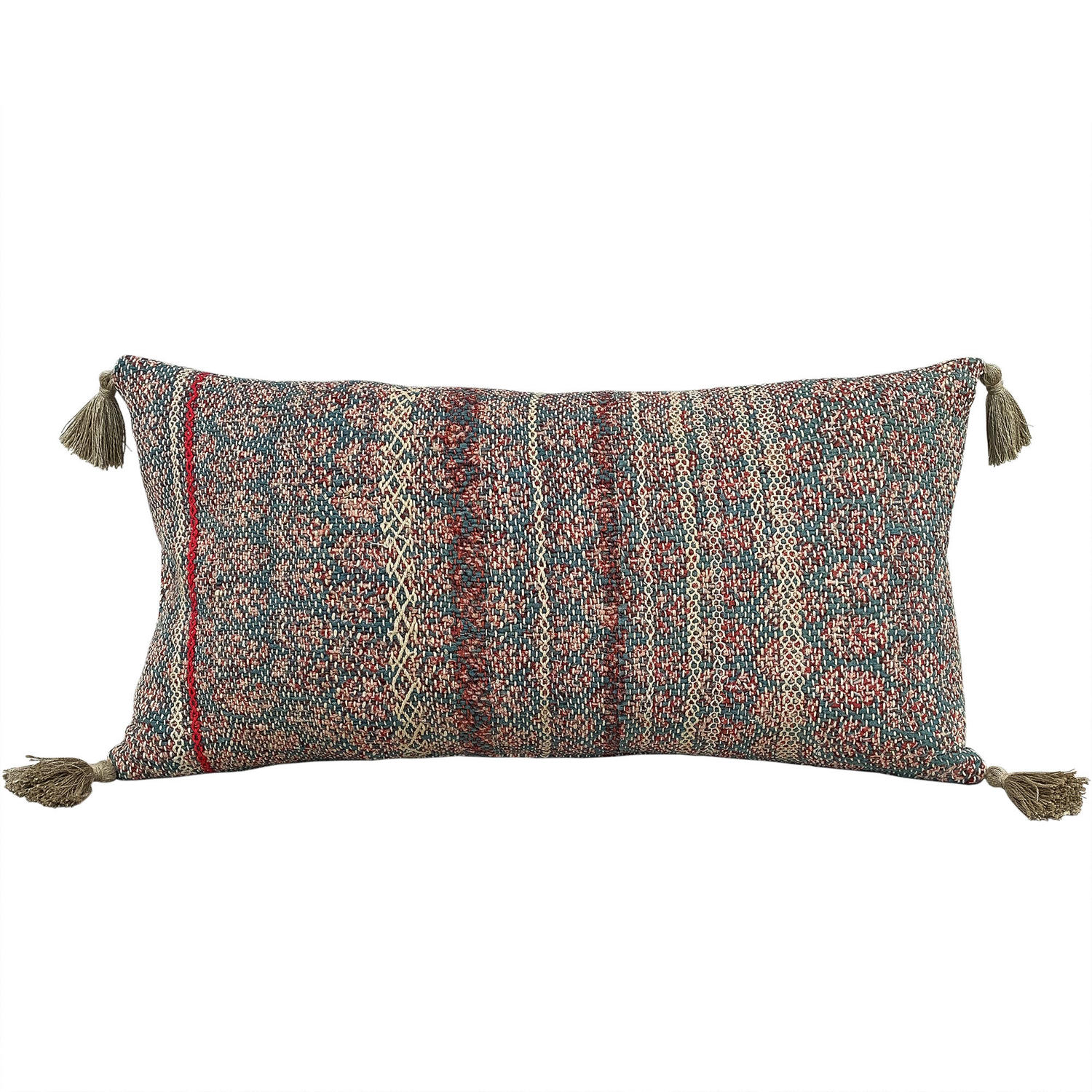 Large Banjara Cushion with Tassels
