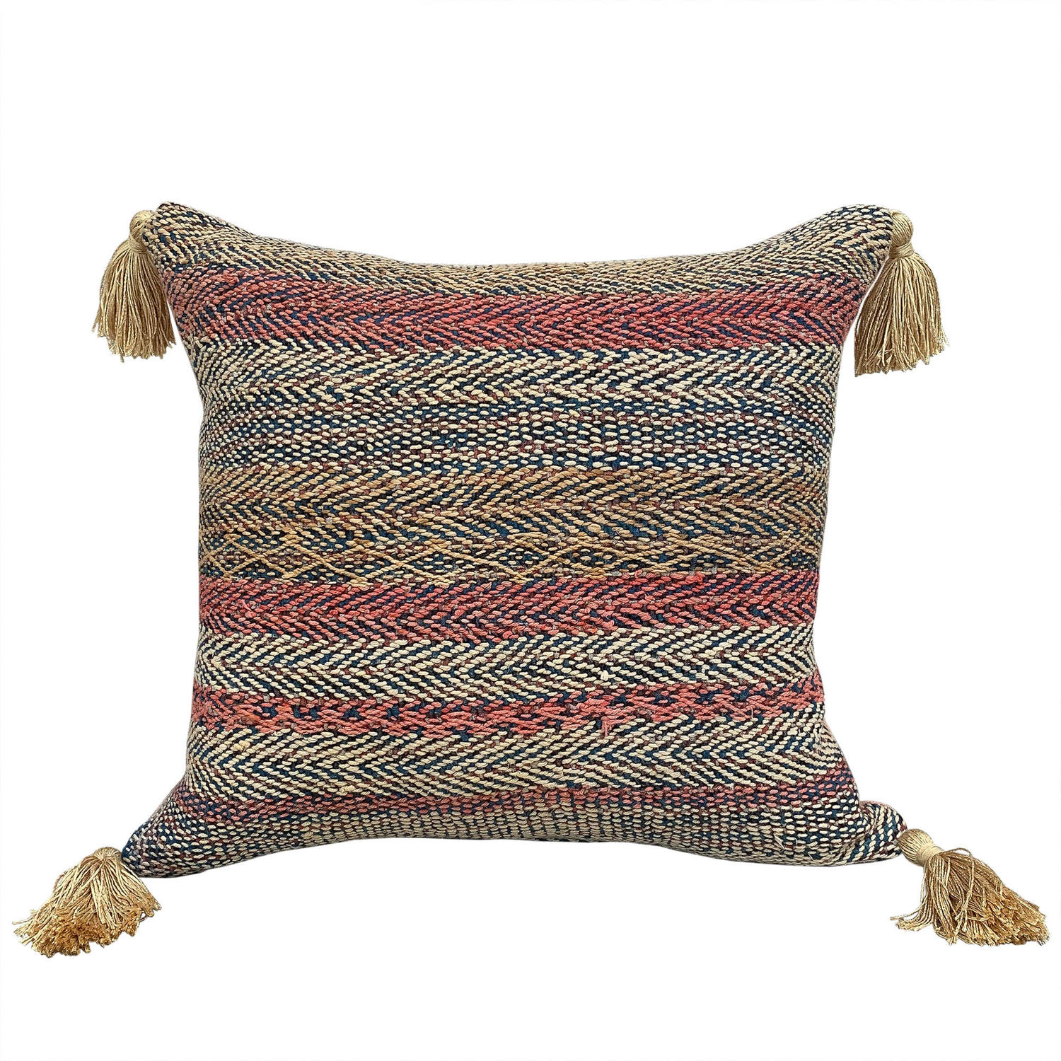 Banjara Cushions with Gold Tassels