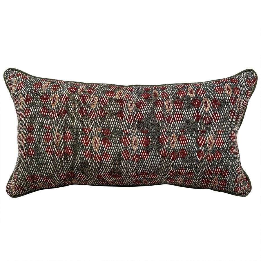 Green Banjara Cushion