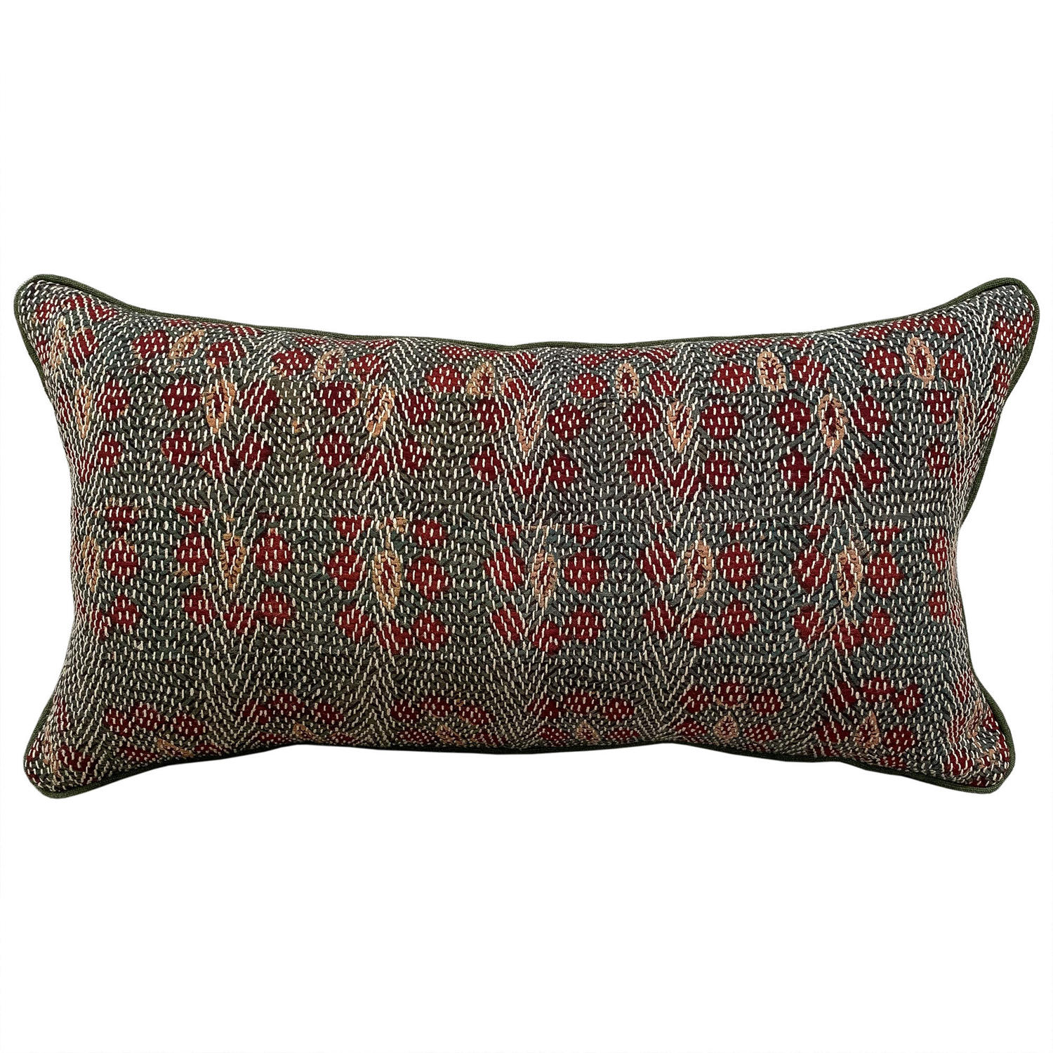Green Banjara Cushion