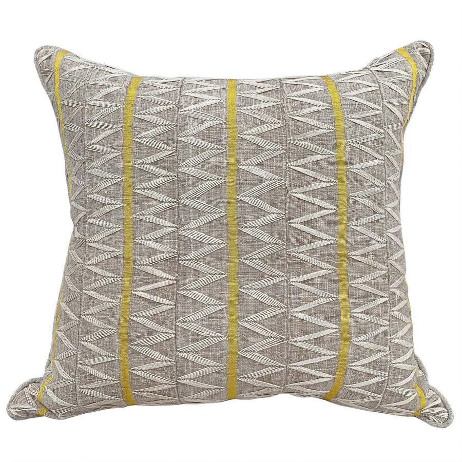 Yoruba Zig Zag Cushions