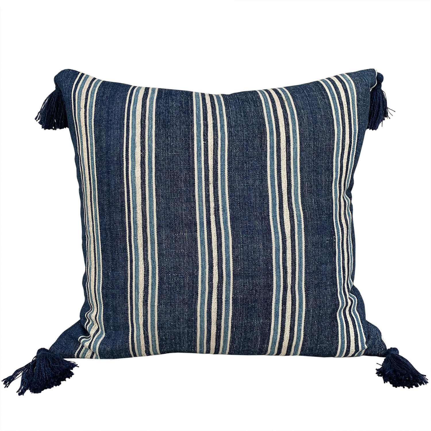 Ivory Coast cushions with tassels