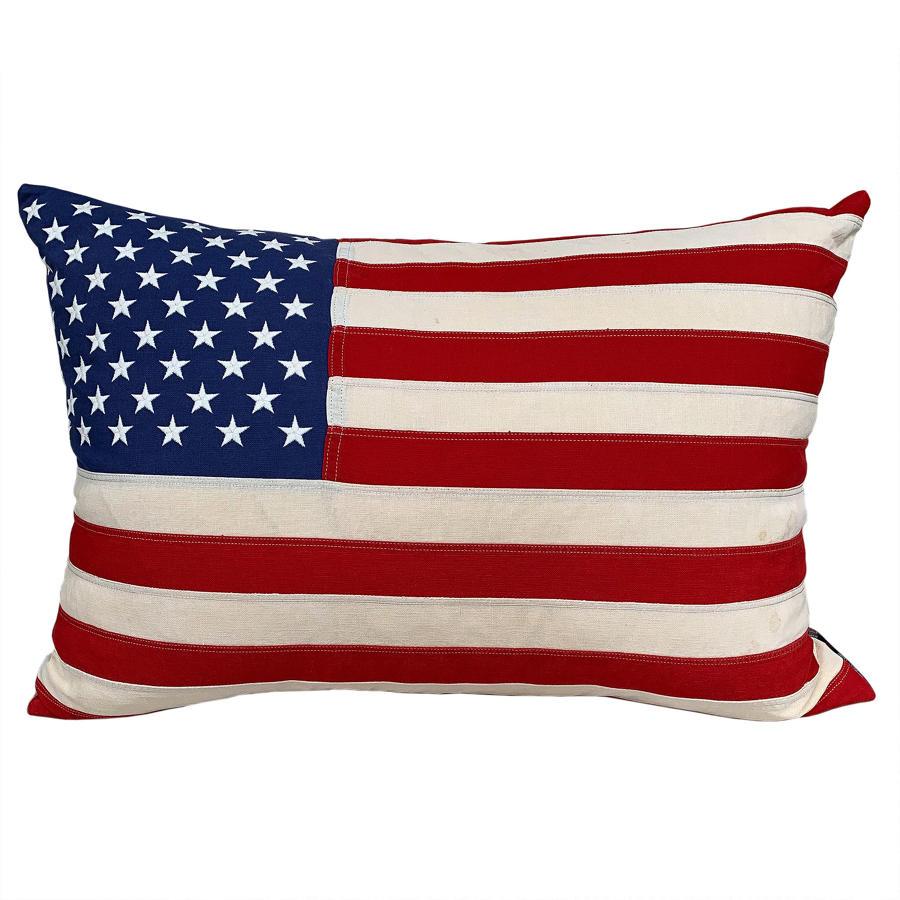 Large Old Glory cushion