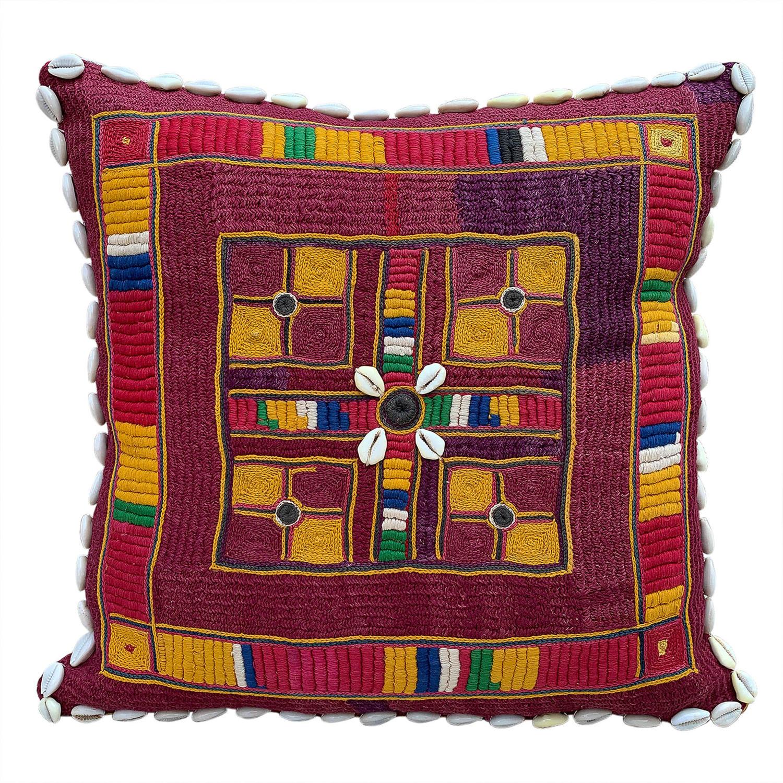 Banjara kalchi cushion