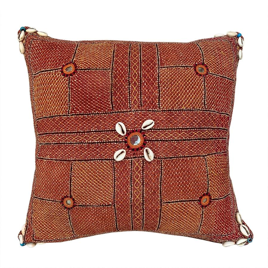 Russett Banjara kalchi cushion