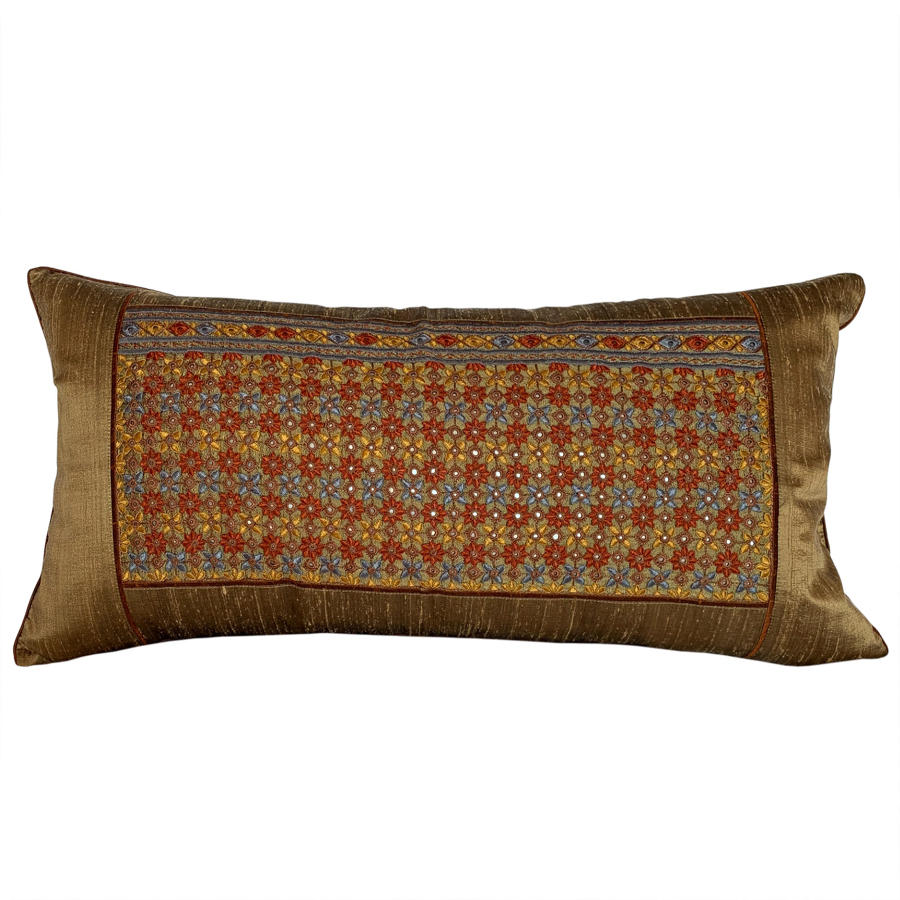 Shrujan hand embriodered cushions