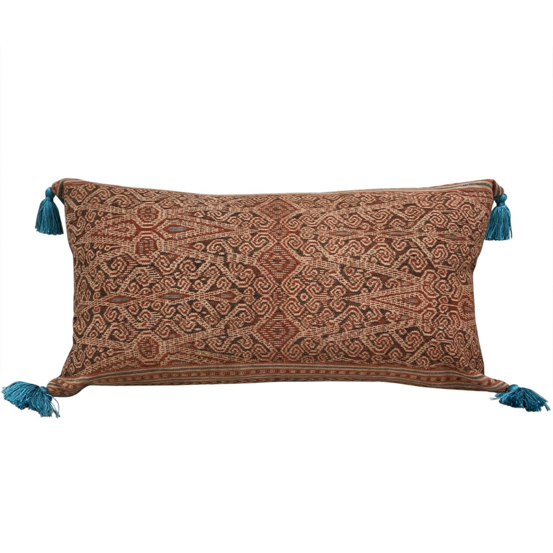 Iban skirt panel cushion