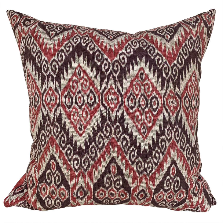 Timor ikat cushions