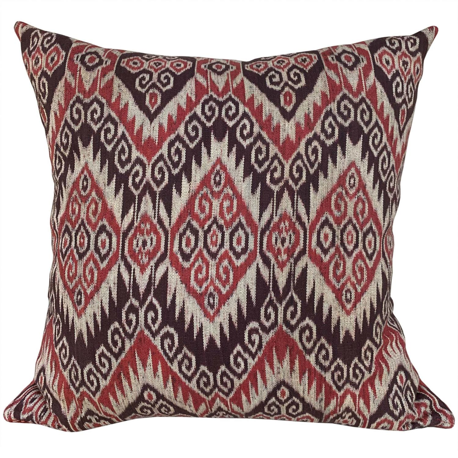 Timor ikat cushion