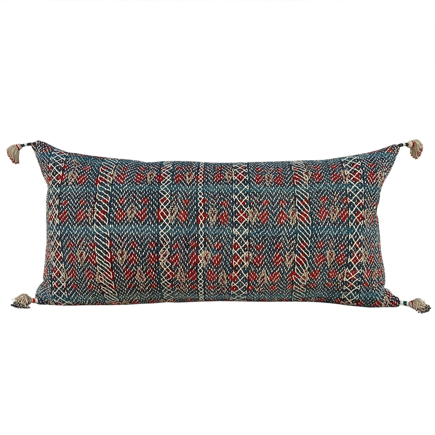 Banjara cushion with Baluci tassels
