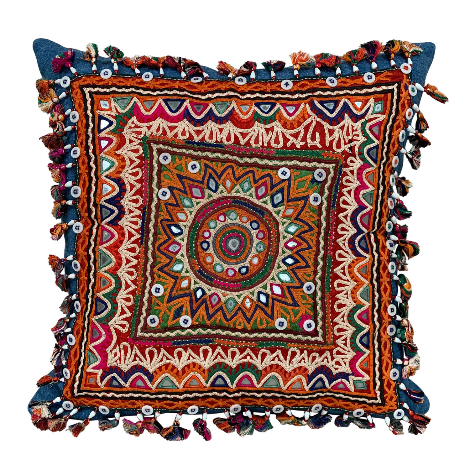 Rabari Chackla cushion