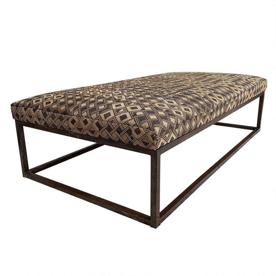 Vintage Kuba cloth coffee table