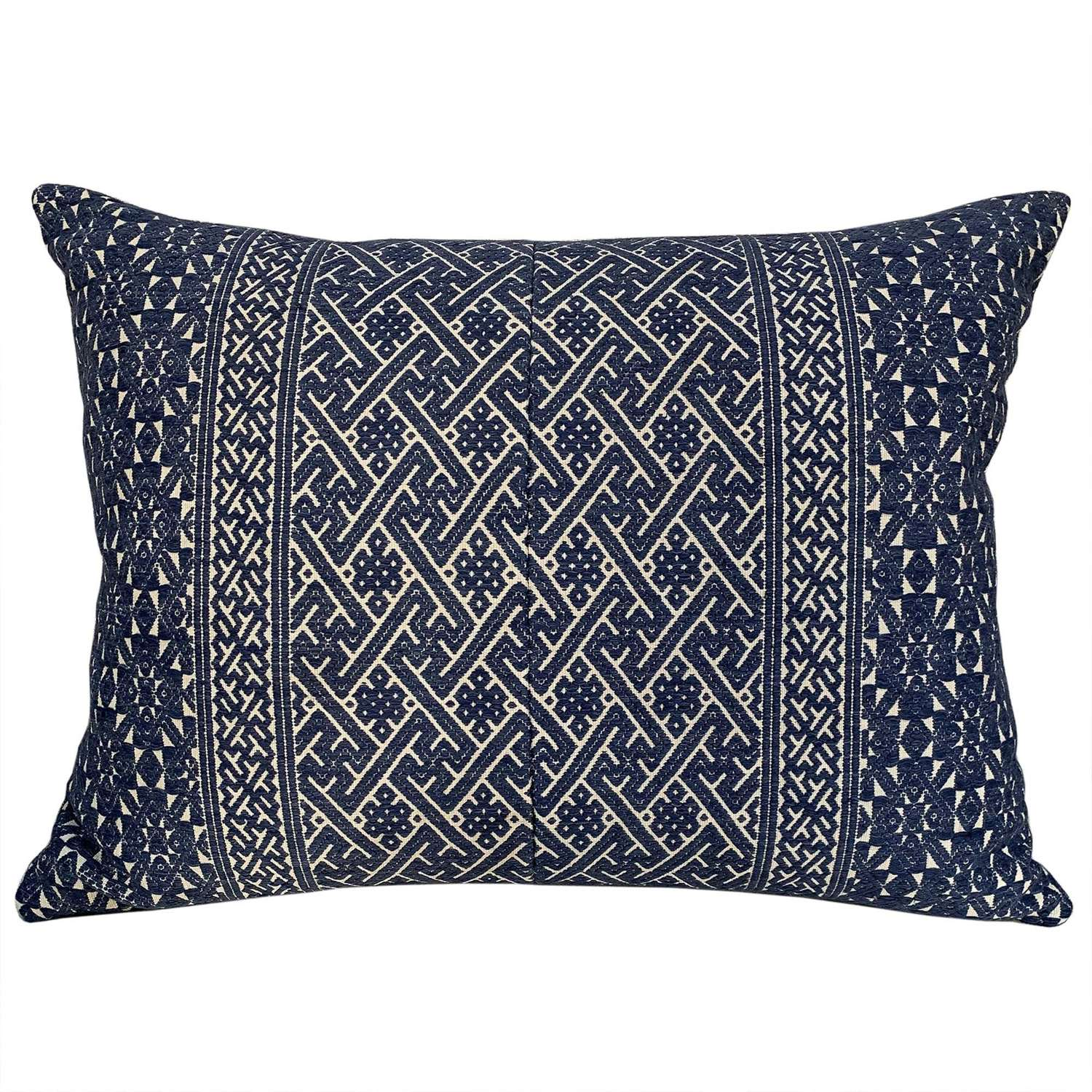 Blue Zhuang wedding blanket cushions