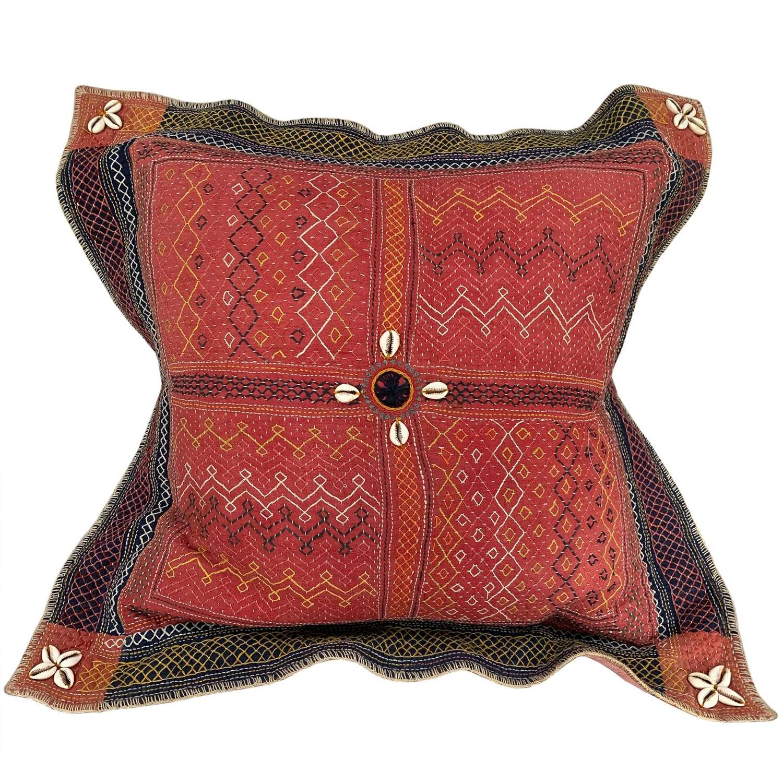 Large Banjara rumal cushion
