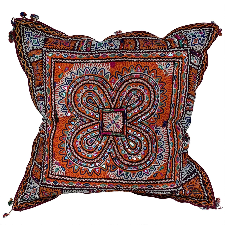 Extra Large Rabari chakla cushions