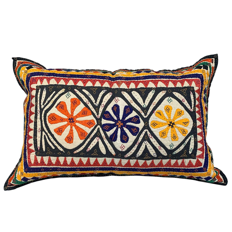 Rabari baby quilt cushion