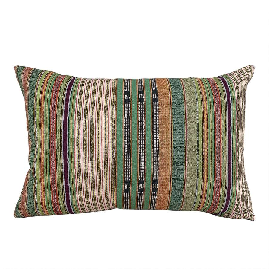 Green and orange Ewe cushions