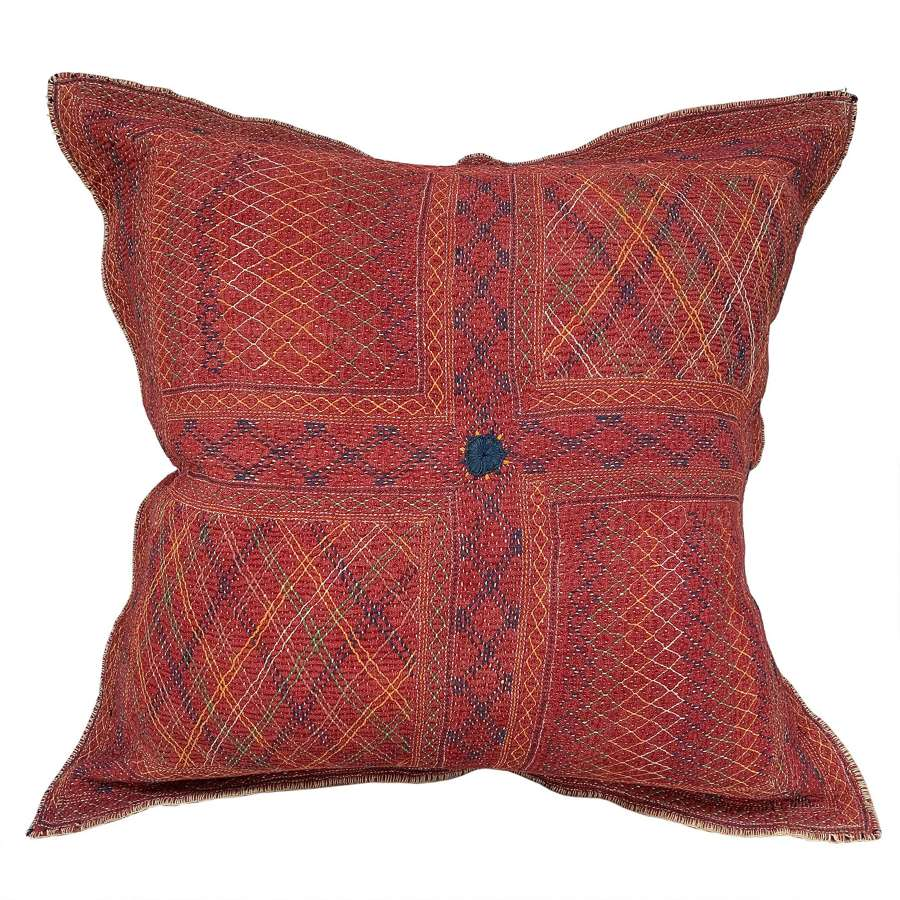 Magnificent large Banjara cushion