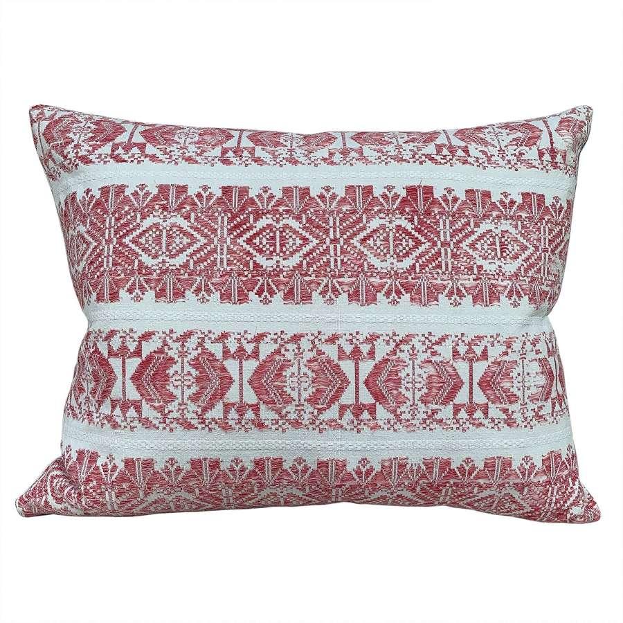 Vintage folk cushions