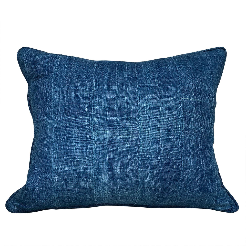 Indigo Mossi cushions