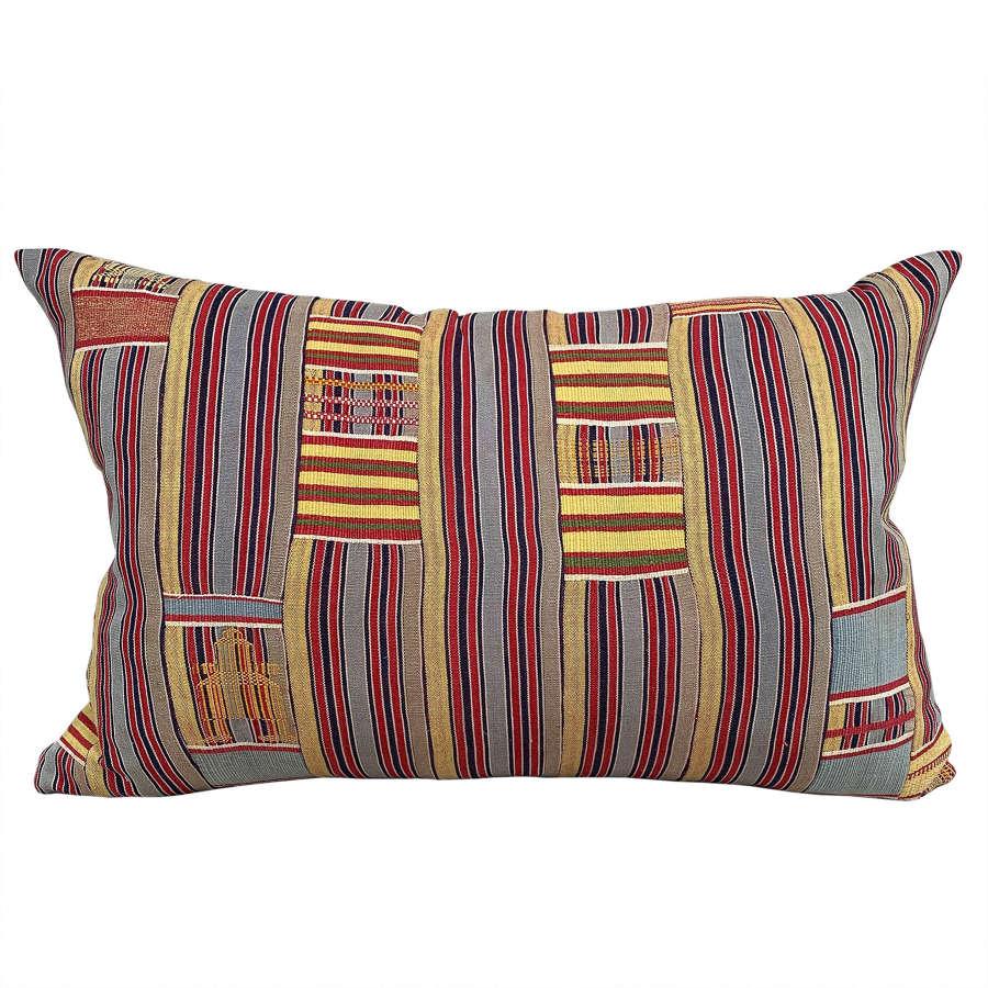 Faded yellow Ewe cushion