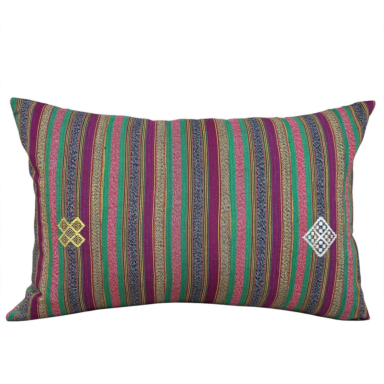 Green & pink Ewe cushions