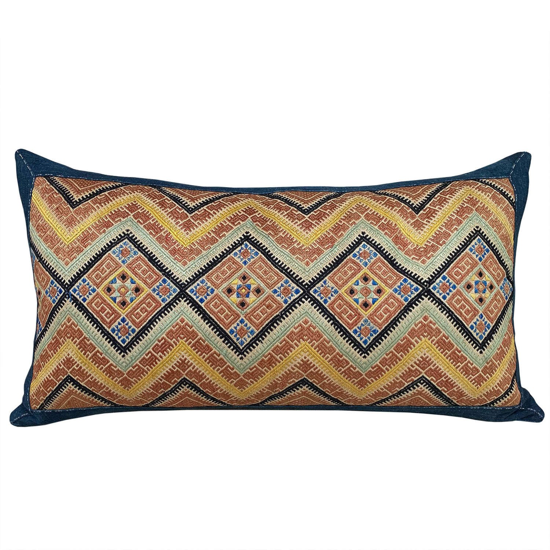Stunning large Zhuang cushion