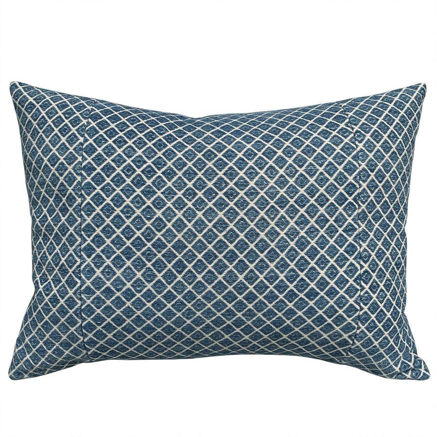 Indigo Zhuang cushions