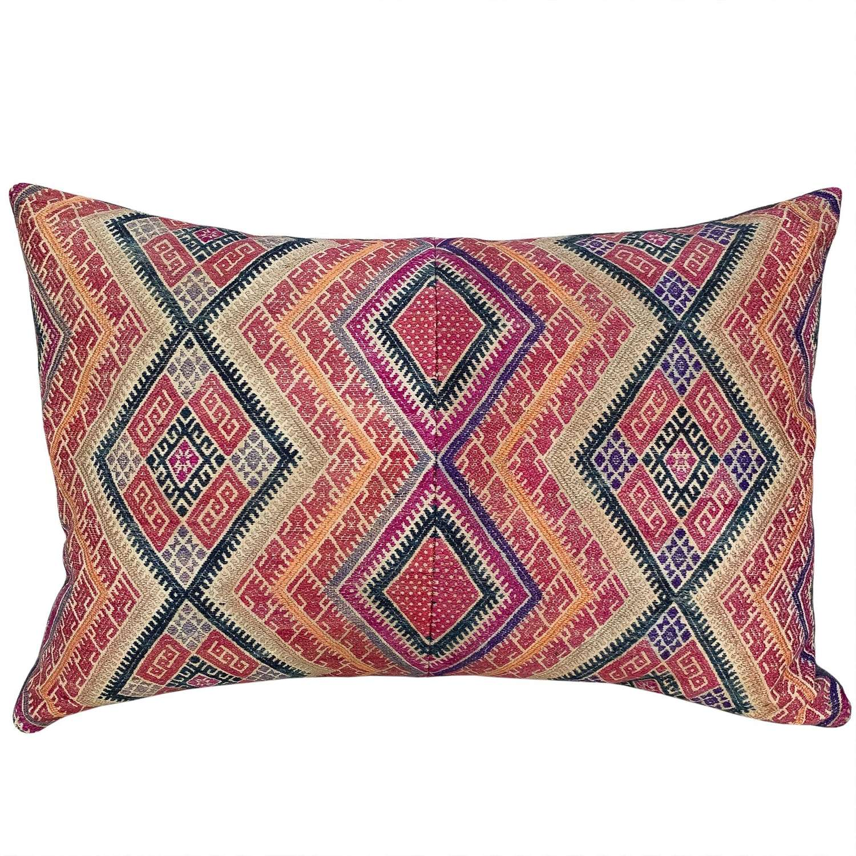 Zhuang wedding blanket cushion
