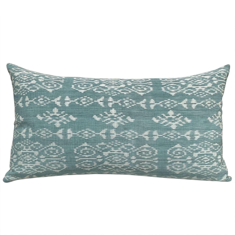 Masrais Rote ikat cushions