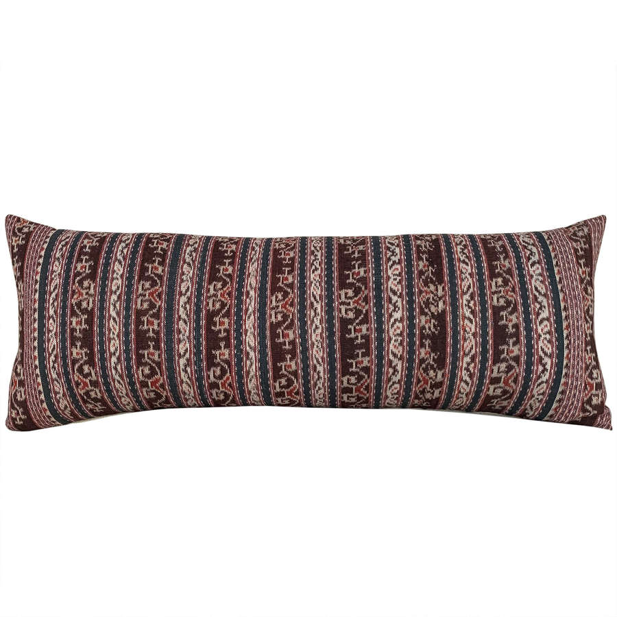 Long Savu ikat cushion