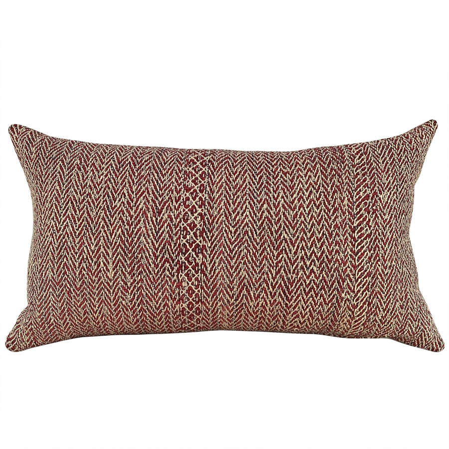 Red Banjara cushion