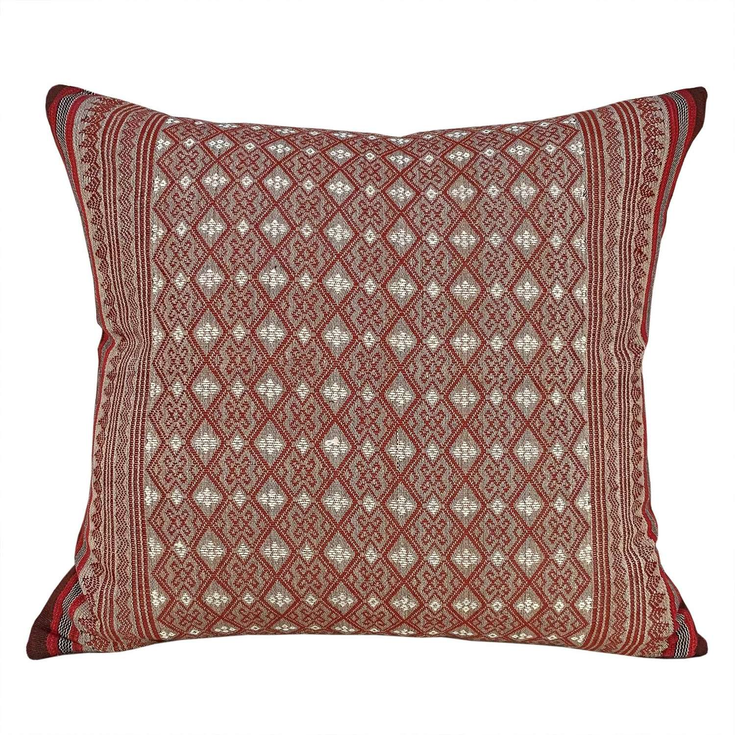 Handwoven Naga cotton cushions